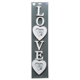 280371-Wooden-Hanging-White-Photo-Frame---Love