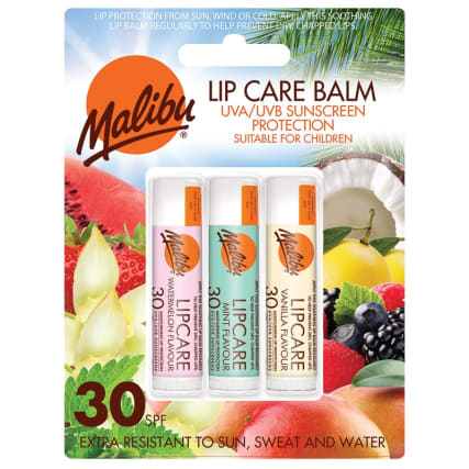 281330-malibu-lip-care-3-pack-factor-30-watermelon-mint-vanilla-blister-pack