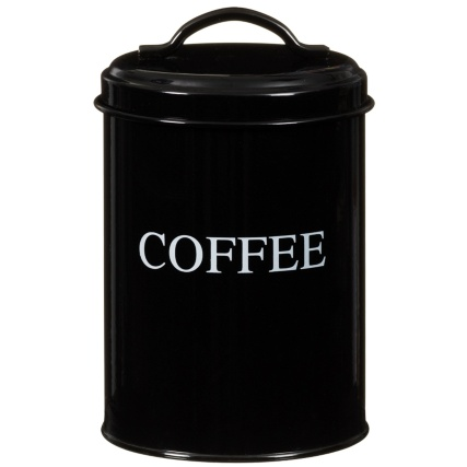 281347-Set-of-3-Enamel--black-Storage-Tins-coffee
