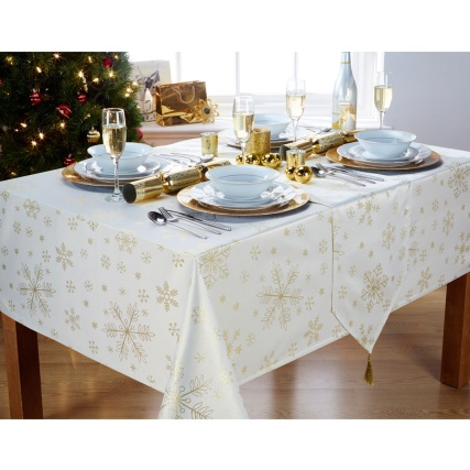 282560-282558-cream-gold-snowflakes-cloth-runner