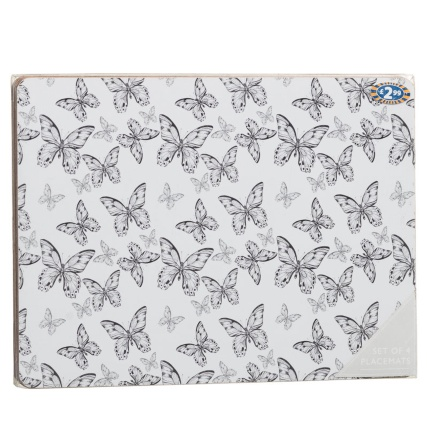 282580-4-Pack-Placemats-grey-butterfly1