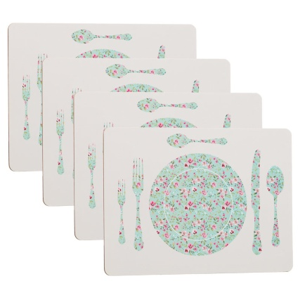 282580-4-Pack-Placemats-place-setting-green-floral-main1