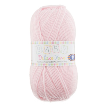 284751-Baby-Deluxe-Yarn-100g-Colour-Yarn-Pink-8071