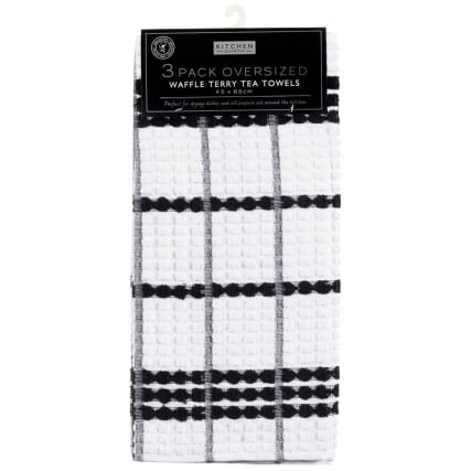 285459-3-pack-Oversized-Waffle-Terry-Tea-Towels-45x65cm-black