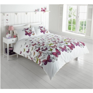 B Amp M Gt Butterfly Double Duvet Set 288860
