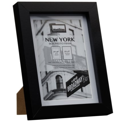 288895-New-York-4x6inch-Black-Photo-Frame