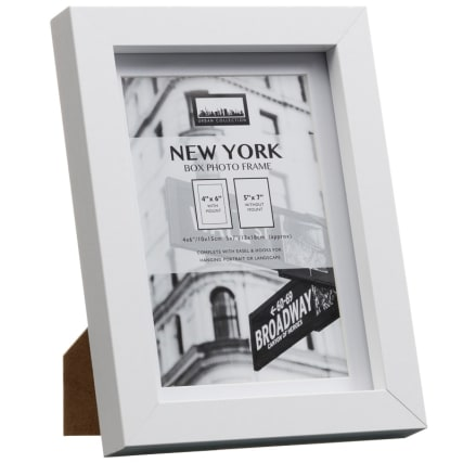 288895-New-York-4x6inch-White-Photo-Frame