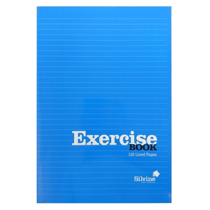 289786-B&M-EXERCISE-BOOK-A4-Blue-Front