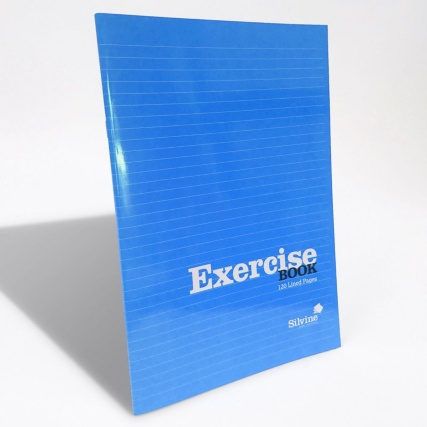 289786-B&M-EXERCISE-BOOK-A4-Blue-Hero