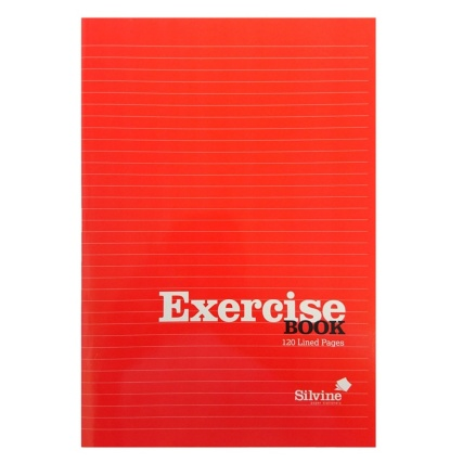 289786-B&M-EXERCISE-BOOK-A4-Red-Front