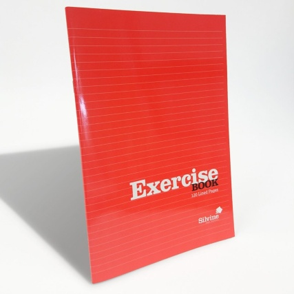 289786-B&M-EXERCISE-BOOK-A4--Red-Hero