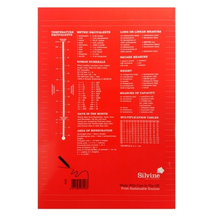 289786-B&M-EXERCISE-BOOK-A4-Red-Reverse