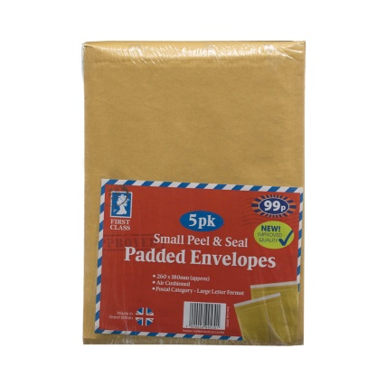 289953-Small-Peel--Seal-Padded-Envelopes-260x180mm