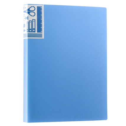 290199-40-packet-A4-Display-Book-blue