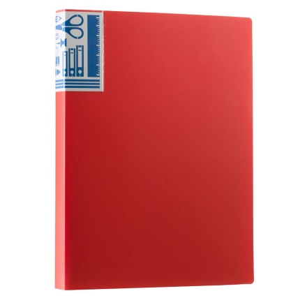 290199-40-packet-A4-Display-Book-red-2