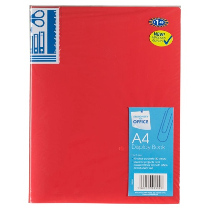 290199-40-packet-A4-Display-Book-red