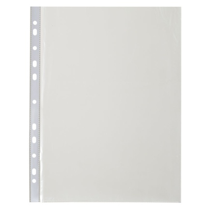 290201-50-pk-Clear-A4-Punched-Pockets