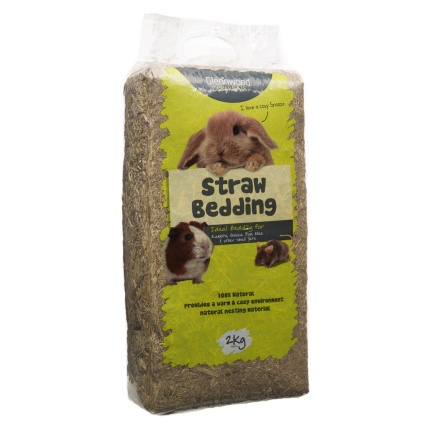 B m glennwood straw 2kg 290482 b m for Warm biscuit bedding company