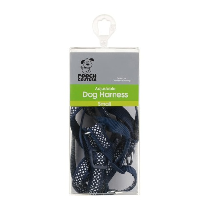 291040-adjustable-dog-harness-small-blue-spot
