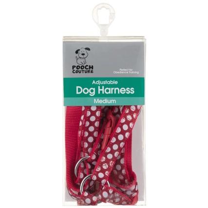 291041-dog-harness-medium-red-spot