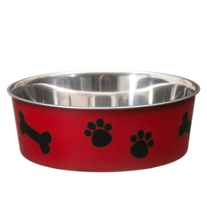 291073-Non-Slip-Stainless-Steel-Red-Dog-Bowl-25cm