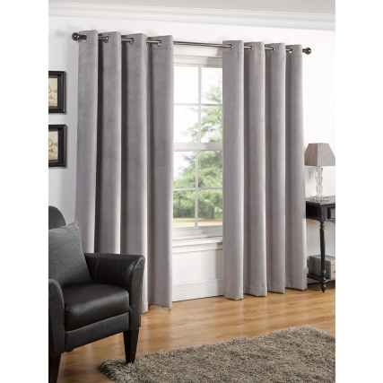 322647-291208-291209-291210-291211-VALENCIA-TEXTURED-PREMIUM-BLACKOUT-EYELET-CURTAIN-Silver