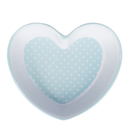 291248-Heart-Shaped-Dog-Bowl---Blue-Dots-2