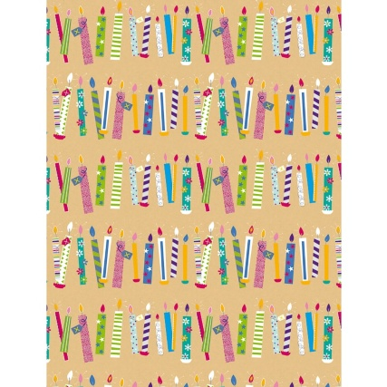291878-adult-everyday-candles-wrapping-paper