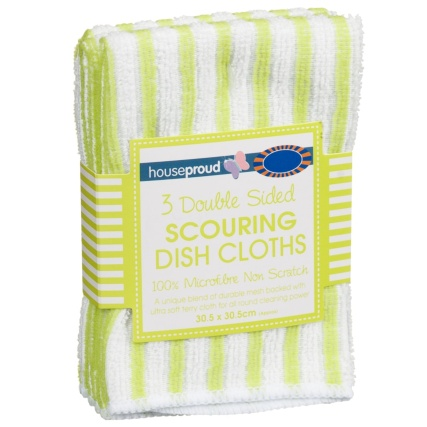 293078-3-Pack-Double-Sided-Scouring-Dish-Cloths-lime-green-and-white