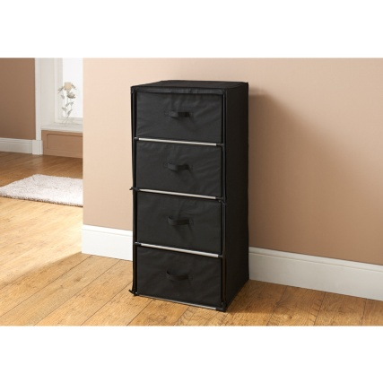 Multipurpose 4 Drawer Storage Unit