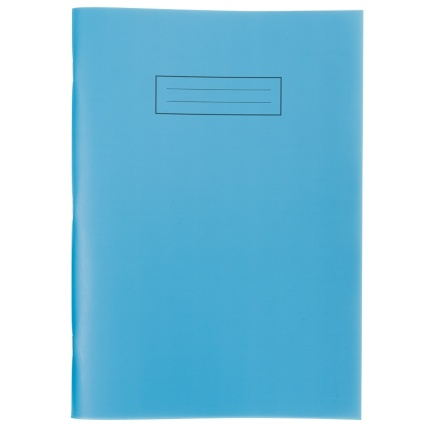 293847-Exercise-Book-Bright-A4-Blue