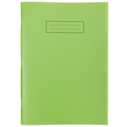 293847-Exercise-Book-Bright-A4-Green