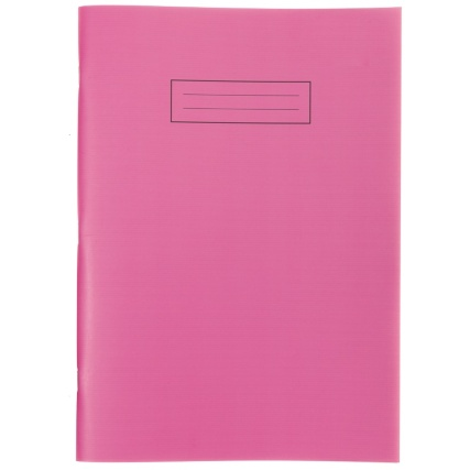 293847-Exercise-Book-Bright-A4-Pink