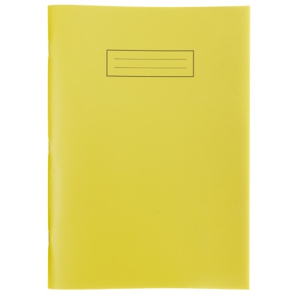 293847-Exercise-Book-Bright-A4-Yellow