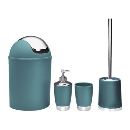 339413-4-Piece-Bathroom-Set-TEAL