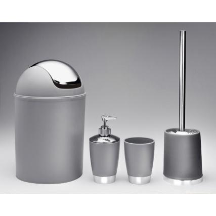 339413-4PC--Bathroom-Set-Grey