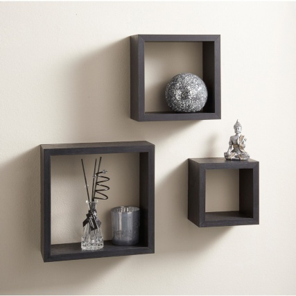 Lokken 3 cube shelves living room furniture b m for Ikea mensole cubo