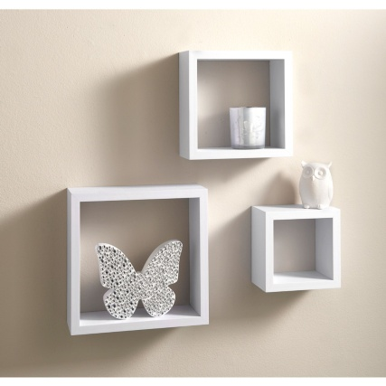Lokken 3 Cube Shelves Living Room Furniture B Amp M