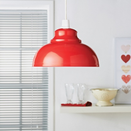 324073-Oslo-Metal-Shade-Red