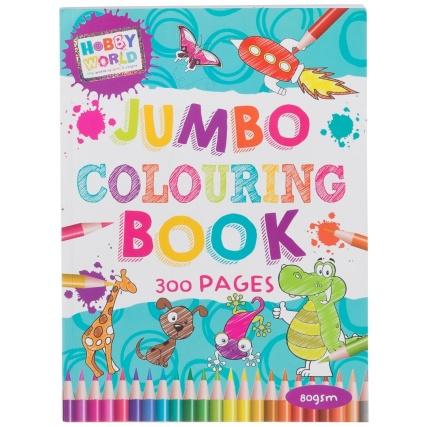296639 jumbo colouring book