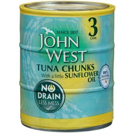 296711-john-west-tuna-chunks-with-sunflower-oil-3x110g