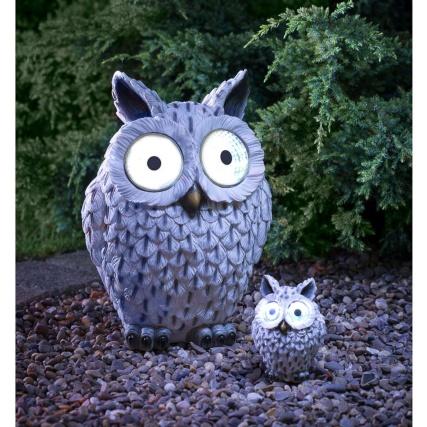 B Amp M Gt Wild Animal With Solar Eyes Ornament Snowy Owl