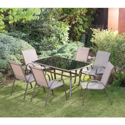 Copenhagen Patio Set 7pc