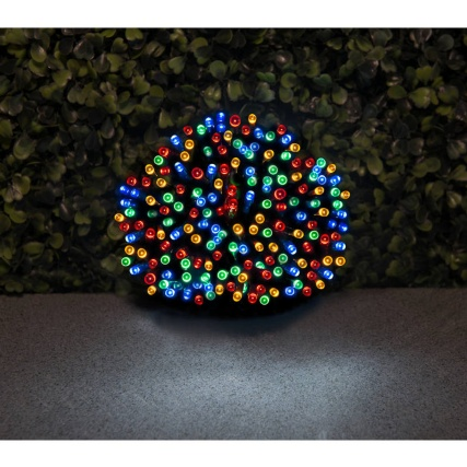 200 Solar Powered LED String Lights - Multicolour