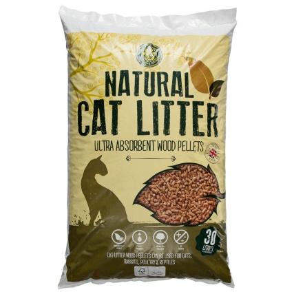 Pets At Home Wood Pellet Cat Litter L