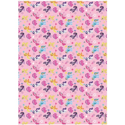 My Little Pony Wrapping Paper 4m Gift Wrap B Amp M