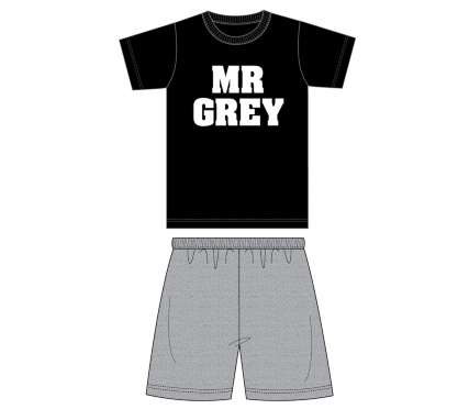 Mens Mr Grey PJs