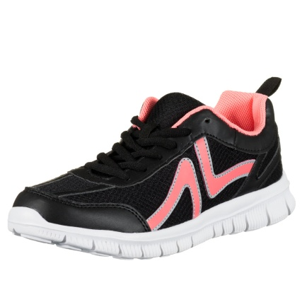 299182-Active-Ladies-Trainers-neon-pink-and-black-2