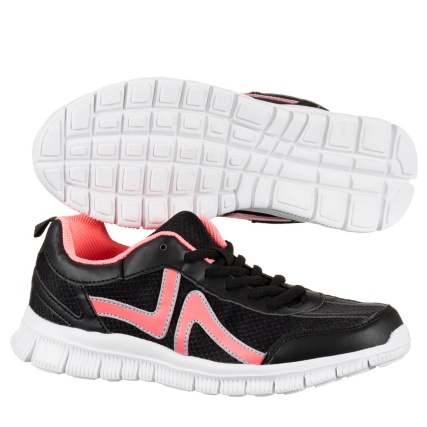 299182-Active-Ladies-Trainers-neon-pink-and-black-4