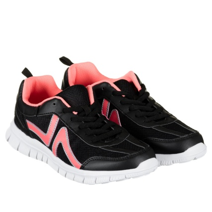 299182-Active-Ladies-Trainers-neon-pink-and-black-5